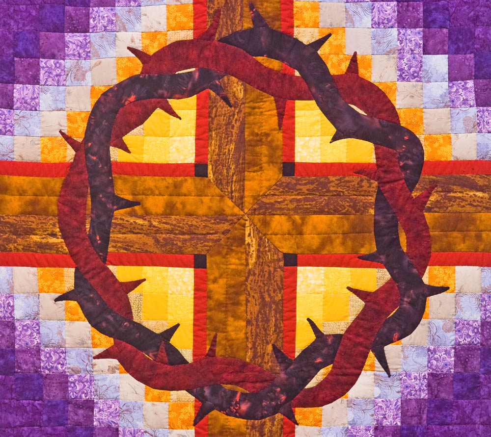 Lent Quilt, Grace CRC, Detail