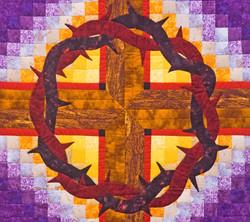 Lent Quilt, Grace CRC, Detail