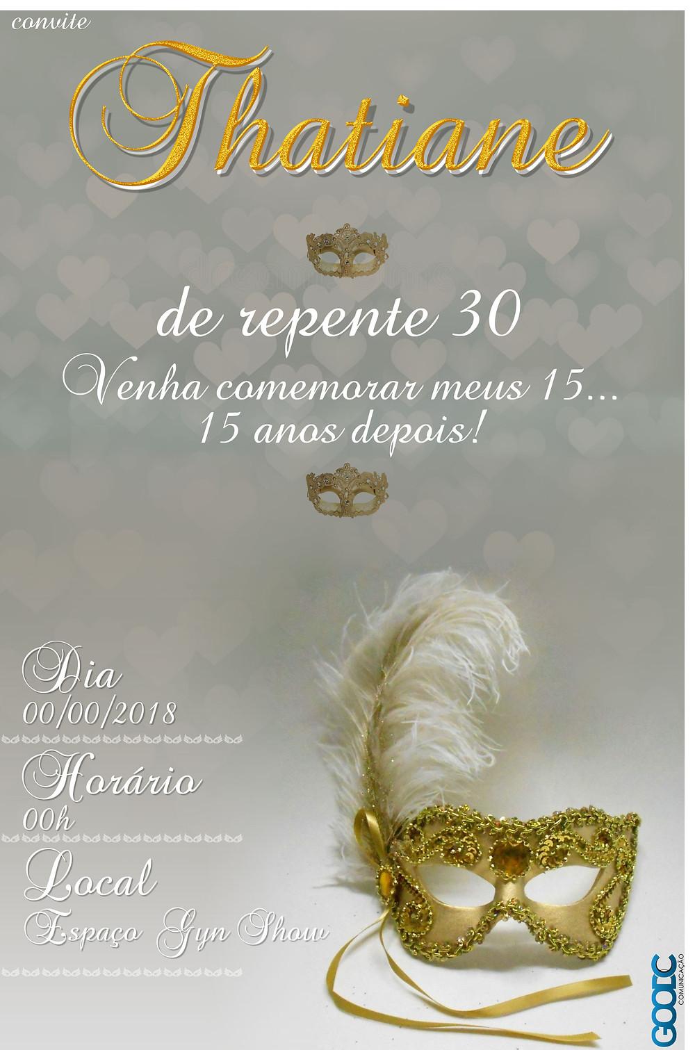 Convite virtual - 30 anos