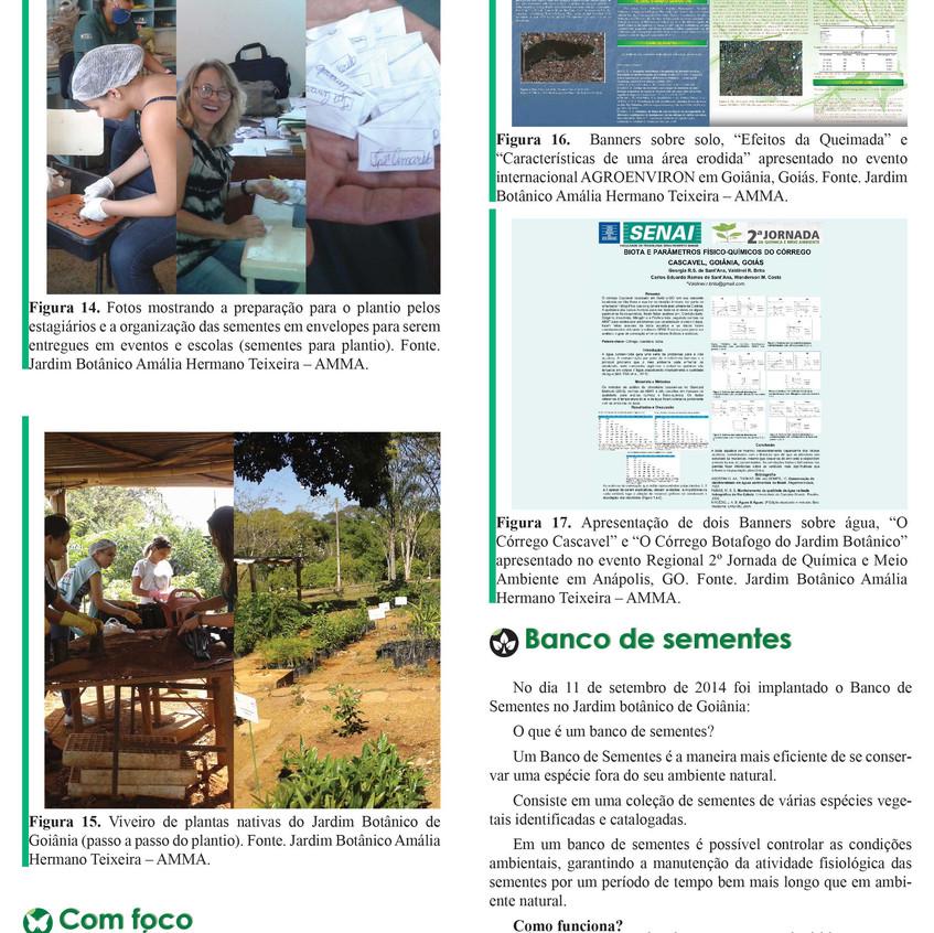 Jardim Botânico Amália Hermano Teixeira - Informativo - 2015