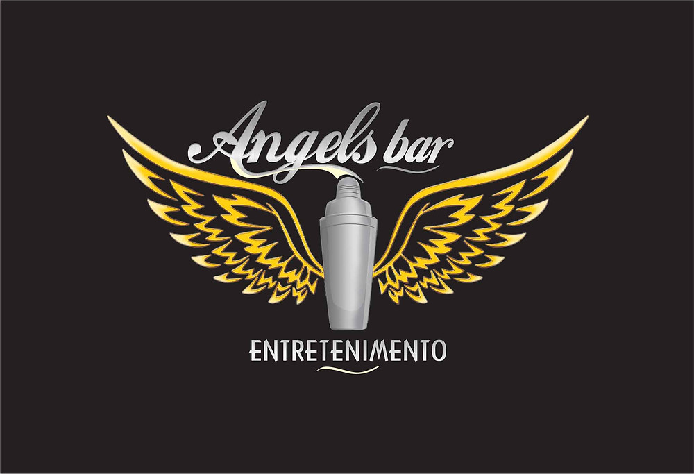 Logotipo - angels bar entretenimento