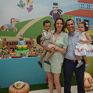 Maria e Bernardo - 2 anos