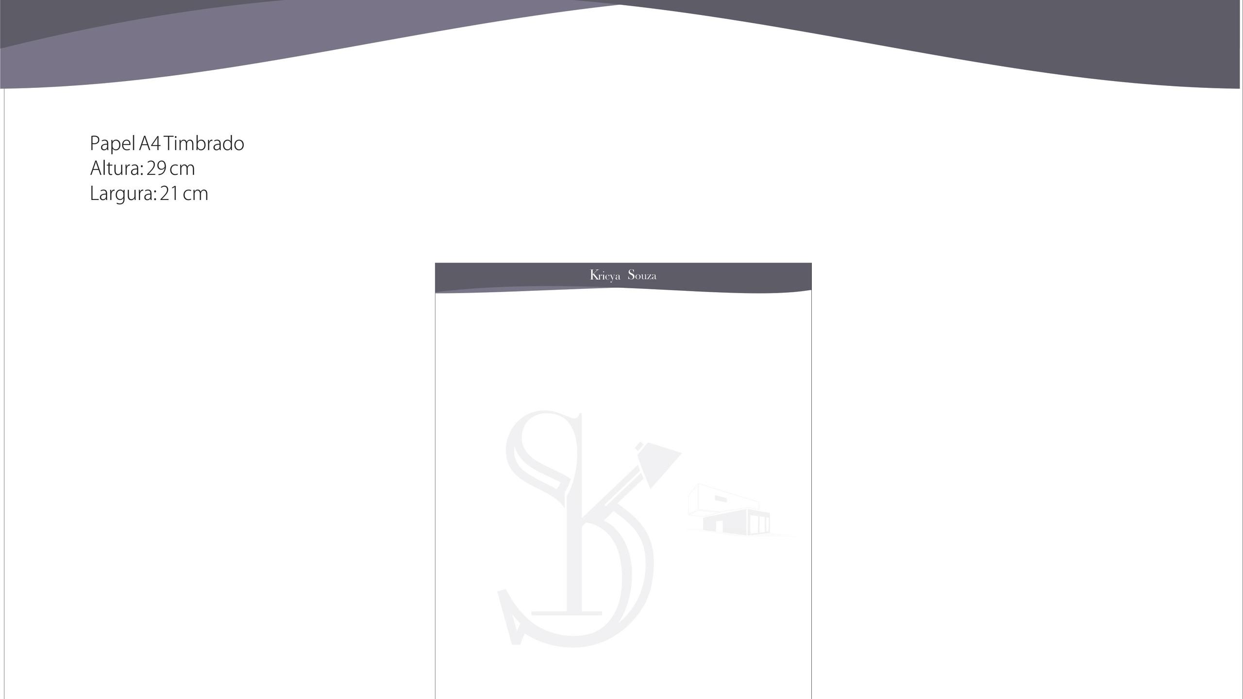 papel timbrado A4
