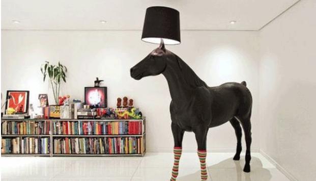 Cavalo na decoração - (Foto: Reprodução/Pinterest)