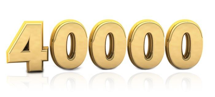 40000 - quarenta mil