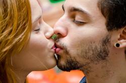 Detalhes de um Beijo