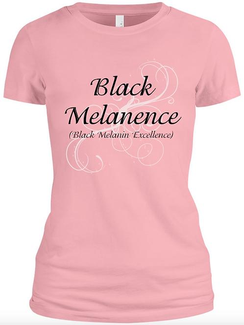 Black Melanence (Black Melanin Excellence) Tee