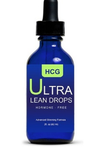 HCG Ultra Lean Diet Drops 2-ounce Weight Loss Supplement with Acai Berry