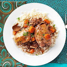 Sesame Ginger Chicken With Carrots, Gree