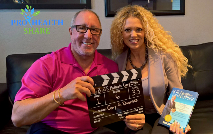 Casual Couch Talk with founder of BioTe Medical, Dr. Gary Donovitz, Vlog Episode 108