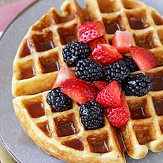 "Fresh ""Belgian"" Waffles"