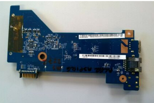 ACER ASPIRE MS2272 POWER SOCKET PCB USB DC JACK BOARD