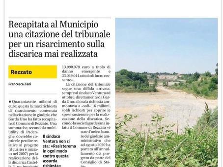 GARDAUNO E LA CASTELLA, ADESSO BASTA!