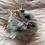 Thumbnail: Gray Unicorn Keychain