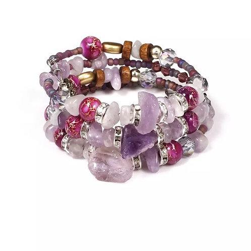 Druzy Crystal Bracelet