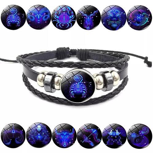 Zodiac Bracelet and Necklace