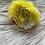 Thumbnail: Yellow Ballerina Keychain