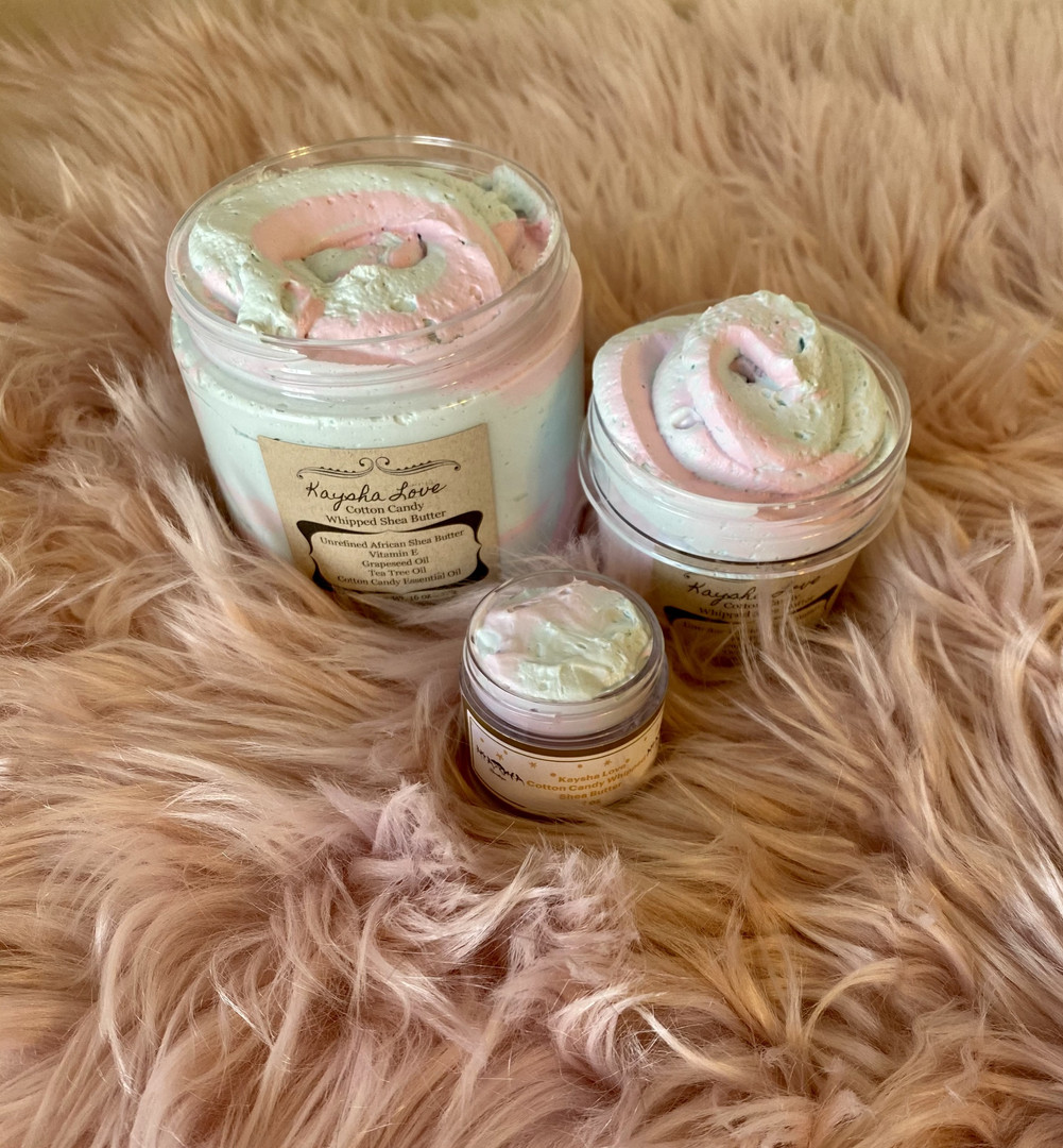 Cotton Candy Shea Butter