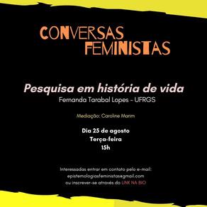 Conversas Feministas Agosto