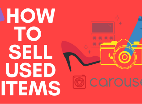 Step-by-Step Guide on Selling Used Items on Carousell in 2019