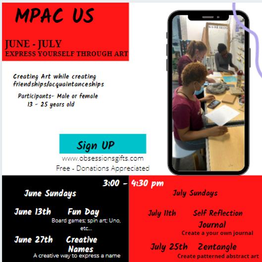 MPAC Express Yourself through Art