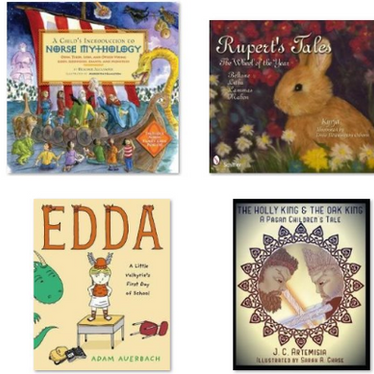 Recommended Pagan Books for Kids