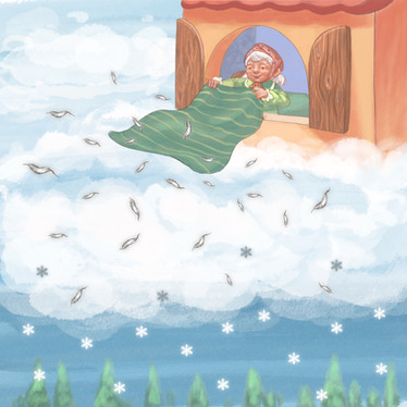 Old Mother Frost - A Book for Pagan Kids