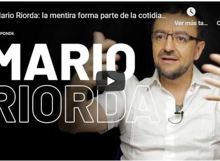 """Riorda:""""Está científicamente comprobado que en Argentina el 50% del discurso político es mentira"""""""