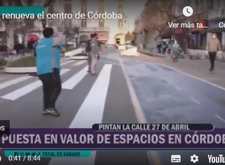 En plena pandemia, el centro cambia su fisonomía: más peatones y bicis, menos autos