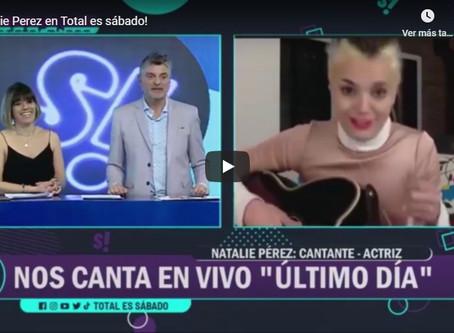La actriz y cantante Natalie Pérez hará su primer show por Streaming