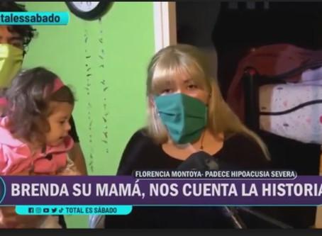 Flor tiene hipoacusia: necesita implante coclear, se demoran los audífonos y sus padres desocupados