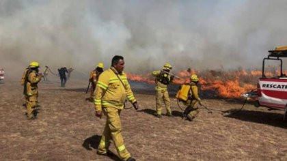 """Director del Observatorio de Bosque Alegre:""""Está todo prendido fuego"""""""