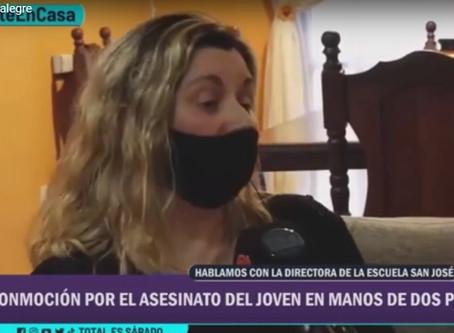 EXCLUSIVO: Habló la directora del Colegio San José donde asistía Blas