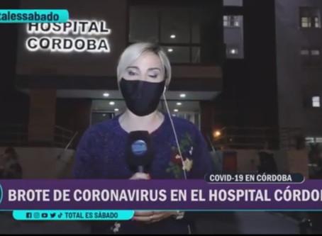 Brote de Covid-19 en el Hospital Córdoba