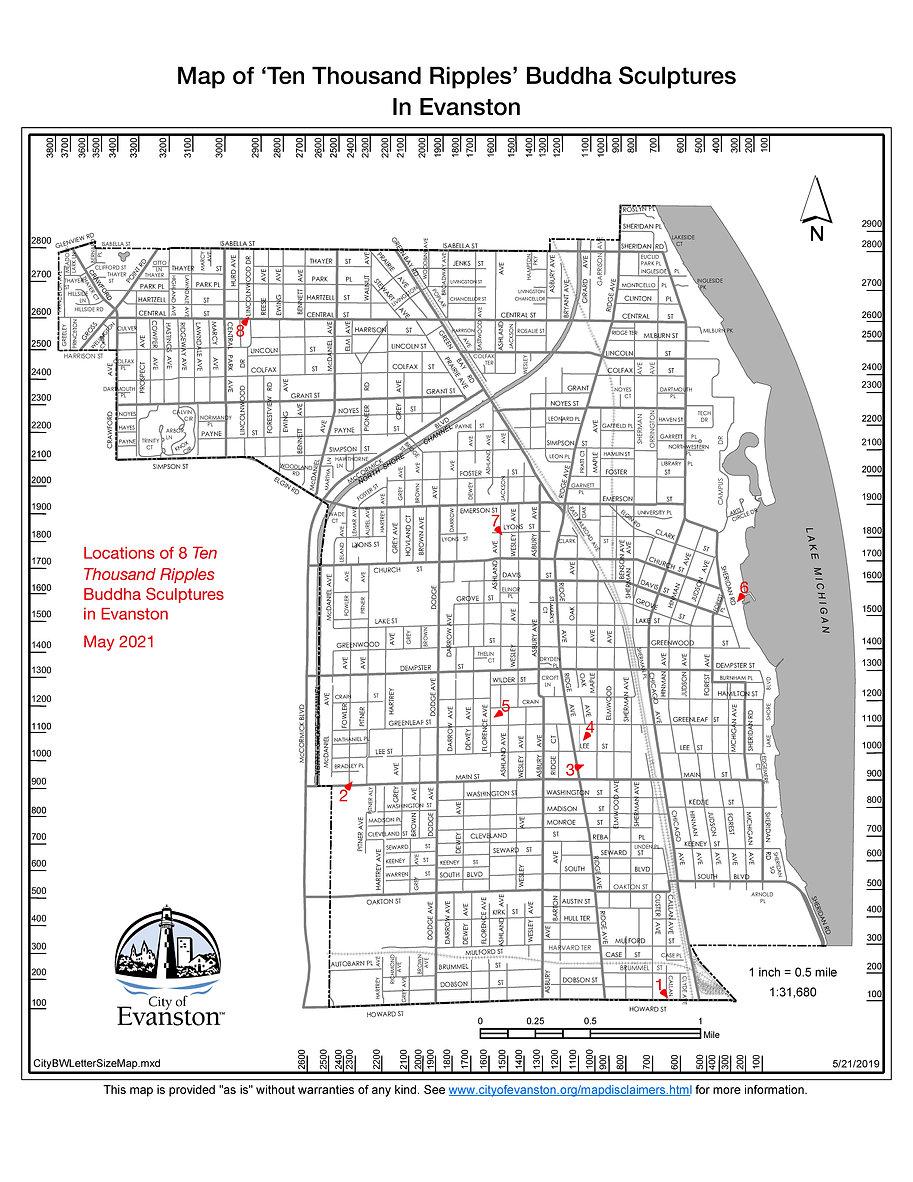 Map of Ten Thousand Ripples Buddha Head Sculptures .jpg