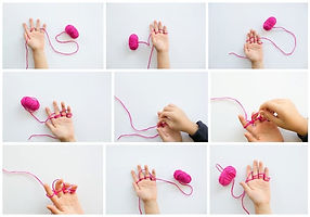 finger-knitting-necklace-kids-collage.jp