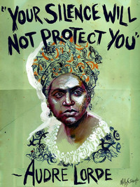 Protest Poster: Audre Lorde