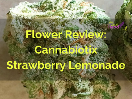 Flower Review: Cannabiotix Strawberry Lemonade