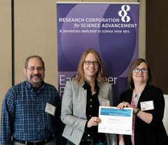 Kim was selected as a Scialog Fellow to participate in Scialog: Advanced Energy Storage.