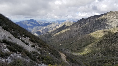 Recruiting hike up Mt Lowe 3.18