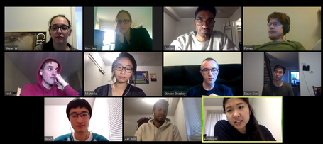 Obligatory Zoom group meeting photo. 03.20202