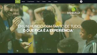Novo site Marolo Produções