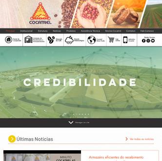 Novo portal Cocatrel no ar