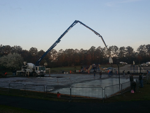 Peachtree City Public Basketball Court
