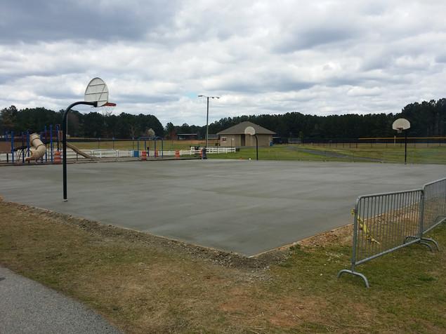 Peachtree City Public Basketball Court