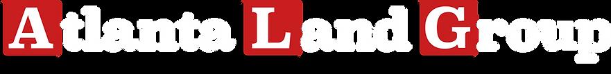 Atlanta Land Group Logo - White // Transparent