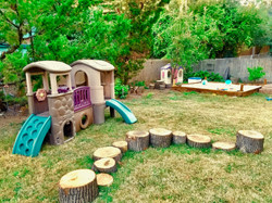 Play Structure w Stumps