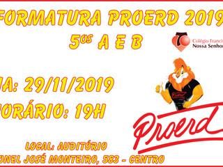 Proerd 2019 - Ensino Fundamental I (5ºA 5ºB)