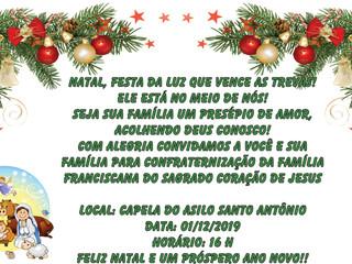 Agradecimento Cantata de Natal