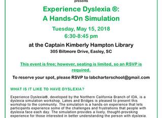 Dyslexia Simulation - May 15, 2018